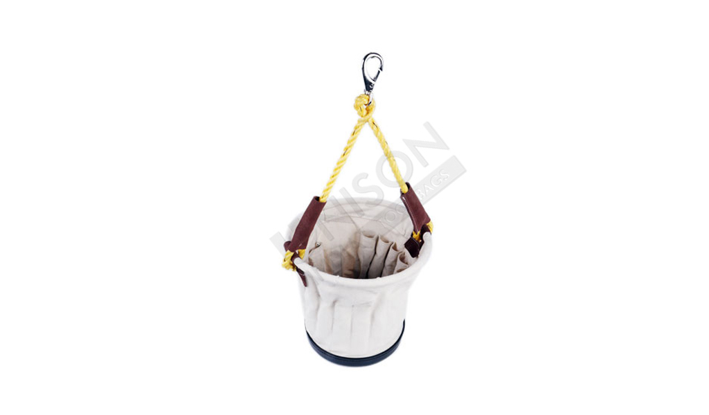 Canvas Utility Carry Round Bucket