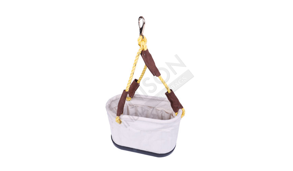 Canvas Utility Carry Oval Bucket